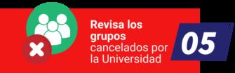 Cancelación de grupos