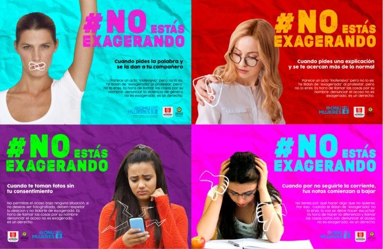 Ganadores del 'I Concurso de Campañas Publicitarias: Ser IES libres de discriminación y violencia de género'
