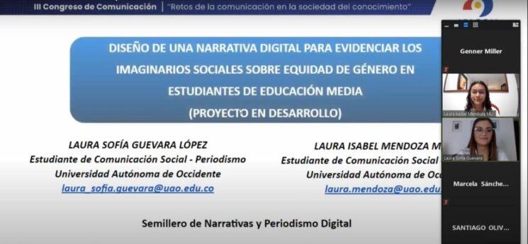 Narrativas digitales con equidad de género