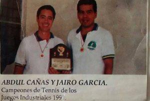 Abdul Cañas, apasionado por el deporte