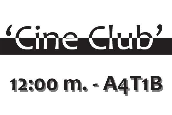 Nuevas 'pelis' en el Cine Club