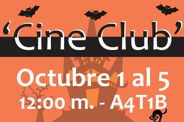 Únete al 'Cine Club'