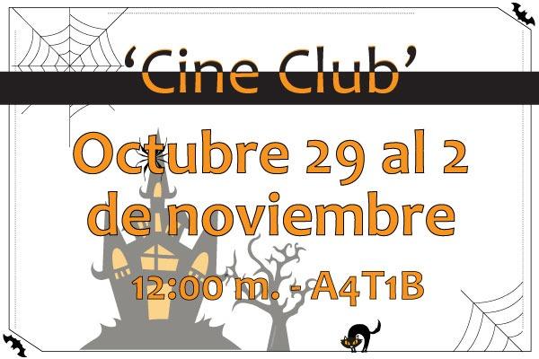 Un 'Cine Club' diferente