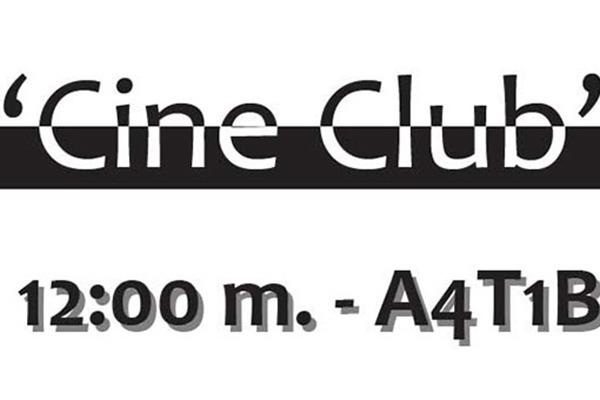 Comienza el mes con el 'Cine Club'