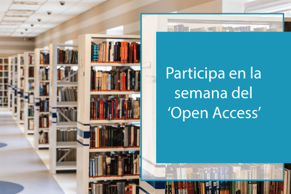 Participa en la semana del 'Open Access'