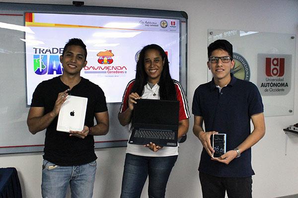 ¡Ganadores del concurso Trader´s UAO!