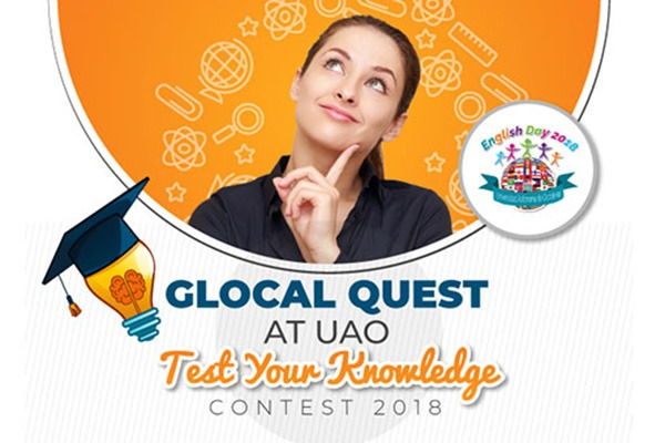 Glocal Quest at UAO Test Your Knowledge Contest 2018