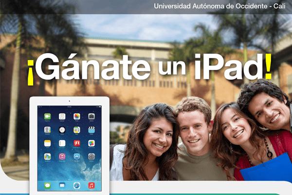 Un iPad puede ser tuyo