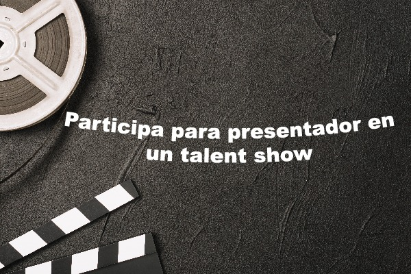Participa del casting para presentador de un 'talent show'