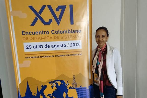 Egresada Autónoma en el 'XVI Encuentro de Dinámica de Sistemas'