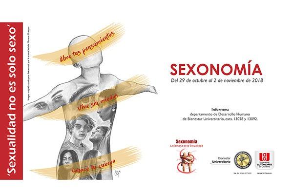 Sexonomía, 'sexualidad no es solo sexo'
