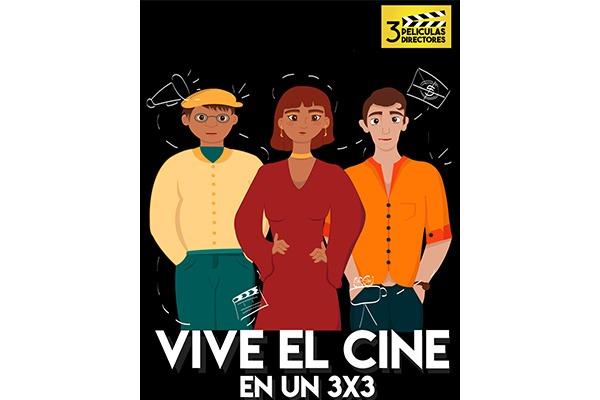 Tres directores y tres películas para disfrutar en la U (afiches)