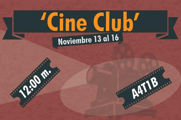 Acércate al cine colombiano con el 'Cine Club'