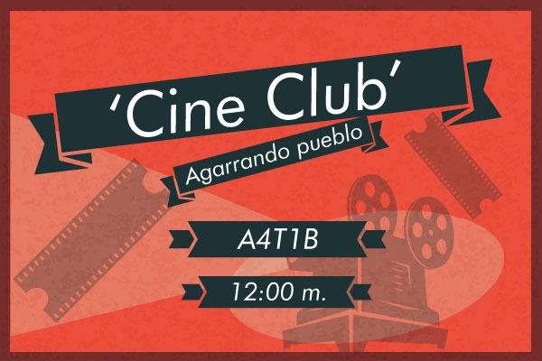 Comienza noviembre con el 'Cine club'